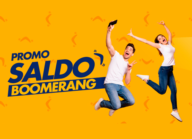 Promo Saldo Boomerang