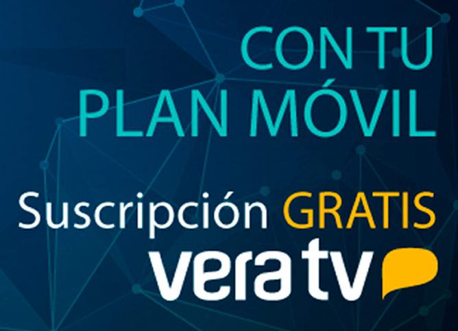 Suscripción Vera TV