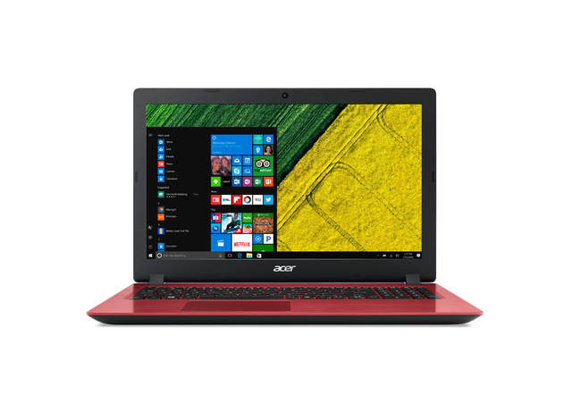 Notebook Acer A315-31-c84l Dual Core W10h Red