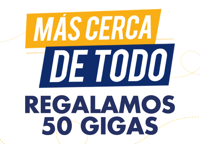 Beneficio 50 GIGAS