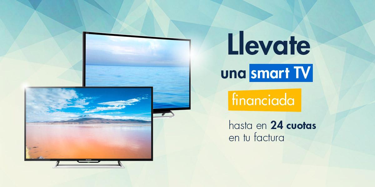 Smart tv en 24 cuotas