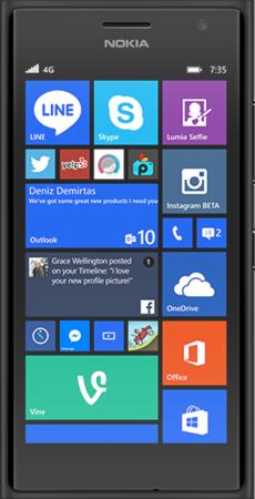 MicrosoftLumia 735