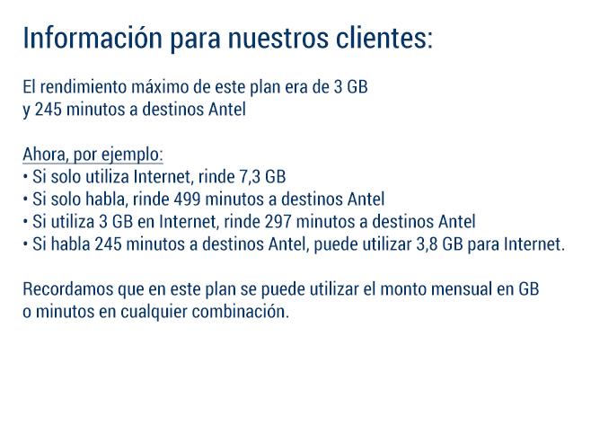 LTE $690 sin límite