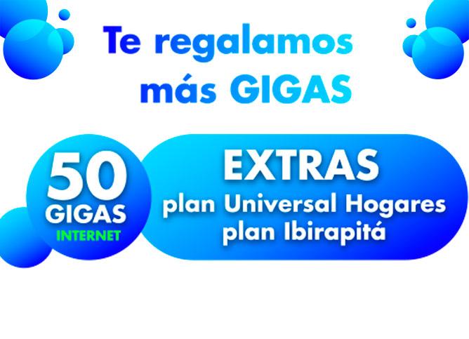 Beneficio 50 GIGAS