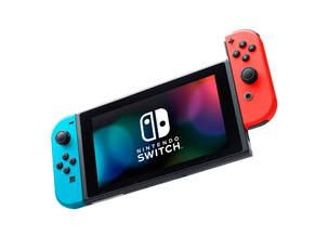Nintendo Switch Neon Blue